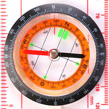 Vacation Magnifying Compass Army Map Reading Scouts Hiking Boating Orienteering