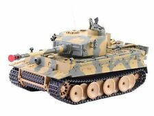 German Tiger I Battle Tank Rc Sound 1/24 Model Wwii Heavy Panzer with Airsoft Me