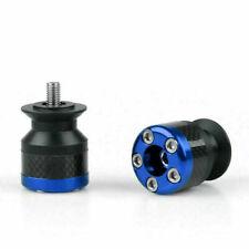 Universal Motorcycle CNC Carbon Fiber 6mm Ständeraufnahme Schwinge Blu AH S9