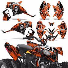 Decal Graphic Kit Polaris Outlaw 90 110 ATV Quad Graphics 90cc Wrap Deco REAP O