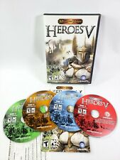 Might and Magic Heroes V - Windows PC - CD-ROM Set of 4 Discs