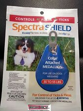Spectra Shield Dog Flea and Tick 4 FOUR MONTH Treatment Medium Dog