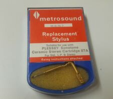 Metrosound M.D.75/7 Replacement Stylus For Std.L.P. &Stereo (78)
