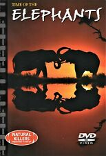 Natural Killers Predators Close-Up Time Of The ELEPHANTS DVD + Book BRAND NEW R0