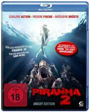 Piranha - Teil: 2 (Uncut)[Blu-ray](FSK 18/NEU/OVP) David Hasselhoff, Garey Busey