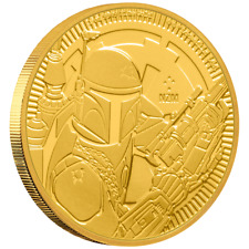 Niue - 250 Dollar 2020 - Star Wars™ - Boba Fett™ - Anlagemünze - 1 Oz Gold ST