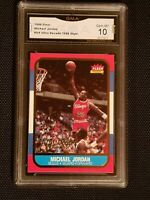 💥 GEM MINT 10 💥 1996 Fleer Ultra Decade 1986 rookie Jordan #U4 PSA sell $700+