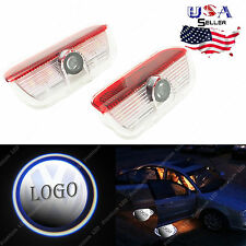 2pcs Logo Laser Door Projector Lights Courtesy Ghost Shadow For Volkswagen VW