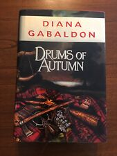 SIGNED Drums of Autumn By Diana Gabaldon 1st Edition First Printing 1997