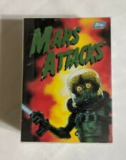 MARS ATTACKS 1994 TOPPS COMPLETE BASE CARD SET OF 100 (NUMBERED 0 TO 99)