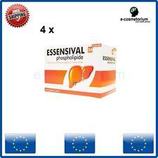 4 x ESSENSIVAL 300 mg 50 Caps Liver Detox, Essentiale Forte