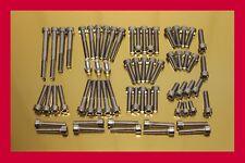 Yamaha Drag Star XVS 650 XVS650 Stainless Steel Bolt-Kit Screws Engine Cover
