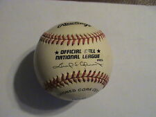 Ernie Banks Chicago Cubs Signed Official National League Baseball