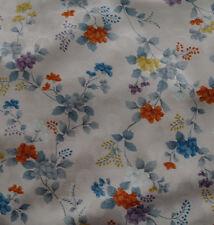 Japanese vintage kimono silk fabric Chrysanthemum and Flowers