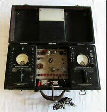 WESTON ELECTRICAL INSTRUMENT MODEL 665 AND TYPE 3 SELECTIVE ANALYZER COMBO CASE