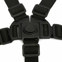 5Point Safety Baby Kids Harness Stroller High Chair Pram Car Strap Belt O8I3