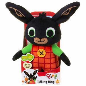 Bing Talking Bing Bunny 30cm Plush Soft Toy BRAND NEW CHRISTMAS GIFT