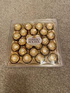 Box Of Ferrero Rochers Chocolates Brand New Perfect Condition