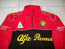 NEU Alfa Romeo Spider 105 Fan - Jacke schwarz rot jacket veste jas giacca jakka
