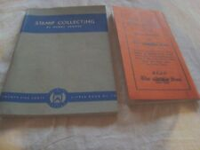 Stamp Collecting By Henry Renouf 1934 & Us Commemorative Notes 1934