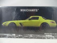 1:18 Minichamps #100039022 Mercedes-Benz AMG SLS 2010 Yellow