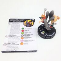 Heroclix Batman: the Animated Series set Hawkman & Hawkgirl #060 Super Rare fig!