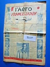 N°2257 : trés grande revue journal : l'aéro France-Japon n° spécial 27.11.1936