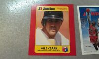 Will Clark San Francisco Giants 1B Hall Of Fame RARE Oddballs WOW YOU PICK