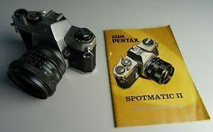 PENTAX Asahi Spotmatic 2 --- Spiegelreflexkamera Analog mit Objektiv