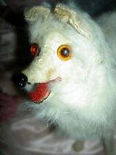 Wonderful German, antique fur, Salon dog for your larger doll, Spitz, Pomeranian