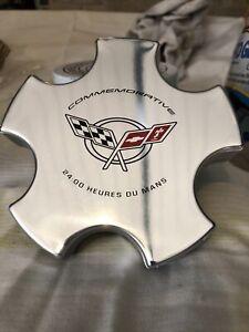 Corvette Commemorative Center Caps 2400 Heures De Mans 9593475 Mold 266