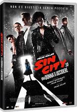 SIN CITY 2 - UNA DONNA PER CUI UCCIDERE (DVD) con Mickey Rourke, Jessica Alba