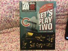 Pearl Jam - Let's Play Two DVD - New And Sealed