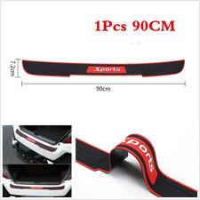 Rubber Car Accessories Rear Bumper Protector Trunk Sill Guard Scratch Strip 90cm(Fits: 2006 Volvo)