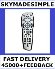 GENUINE OFFICIAL NEW SILVER SKY+HD REV10 REMOTE CONTROL (REPLACES REV 8/8R/9/9F)