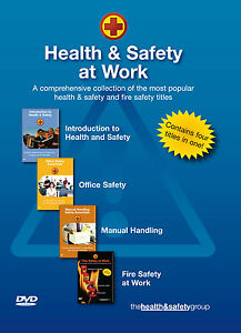 Health and Safety DVD - 4 disk compilation