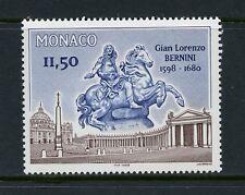 Q159  Monaco  1998  Bernini architect sculptor   1v.  MNH