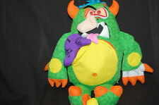 """Gross Out Doodle Monster Hidden Surprises 14"""" Plush Stuffed Animal Lovey Toy"""