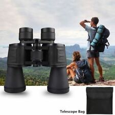 Outdoor 20x50 Zoom Telescope Day Night Vision Travel Binoculars Hunt + Case