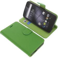 Tasche für Gigaset GS160 / GS170 Book-Style Schutz Hülle Handytasche Buch Grün