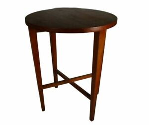 Vintage Mid Century Teak Plant Stand Coffee Folding Poul Hundevad Table (2)