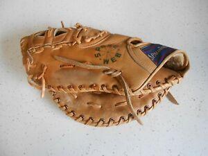 "Spalding 42-466 Ron Fairly Spoke Web Baseball First 1st Base Glove Mitt 12"" LH"