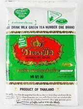 7.05oz THAI MILK GREEN TEA MIX NUMBER ONE BRAND TASTEFUL HOT/COLD DRINK HALAL