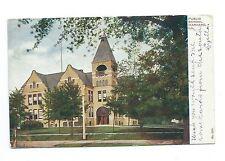 Undivided back, Public School Harvard Illinois, Bay Minette Alabama, 1907