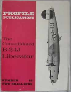Aircraft Profile Publications Issue 19 featuring Consolidated B-24 Liberator