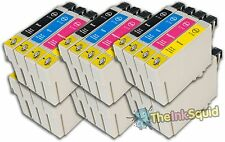 24 T0711-4/T0715 non-oem Cheetah Ink Cartridges fit Epson Stylus DX8450 DX9400F