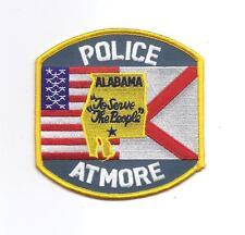 **ATMORE ALABAMA POLICE PATCH**