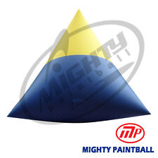 Mighty Paintball Air Bunker (Inflatable Bunker) - Small Dorito