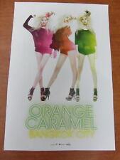 ORANGE CARAMEL - Bangkok City [OFFICIAL] POSTER  K-POP