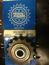 "10020 New In Box, Martin 50BB15H 5/8 Idler Sprocket, 5/8"" bore"